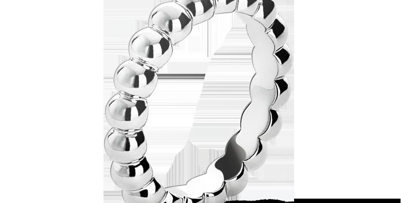 Van Cleef & Arpels Perlée ring, large model