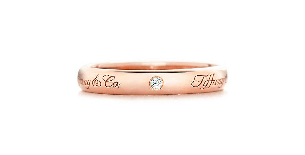 """TIFFANY NOTES® """"Tiffany & Co."""" Band Ring"""