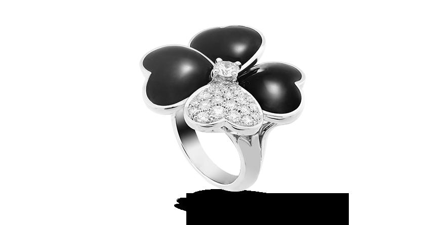 Van Cleef & Arpels Cosmos ring, large model