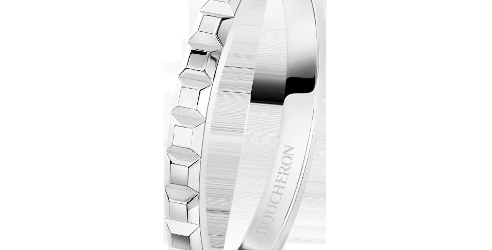 Boucheron Pointe De Diamant Platinum Mini