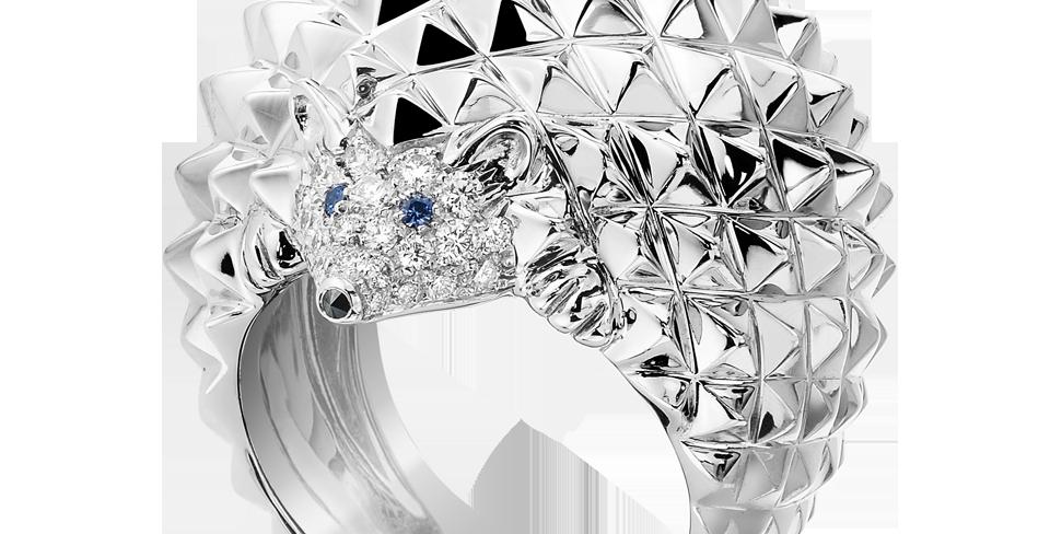 Boucheron Hans, The Hedgehog Ring, Diamonds