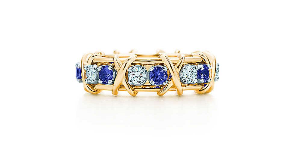 TIFFANY & CO. SCHLUMBERGER® Sixteen Stone Ring
