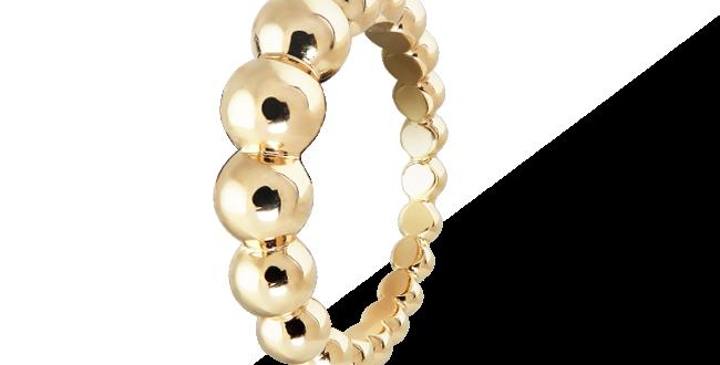 Van Cleef & Arpels Perlée Variation Ring