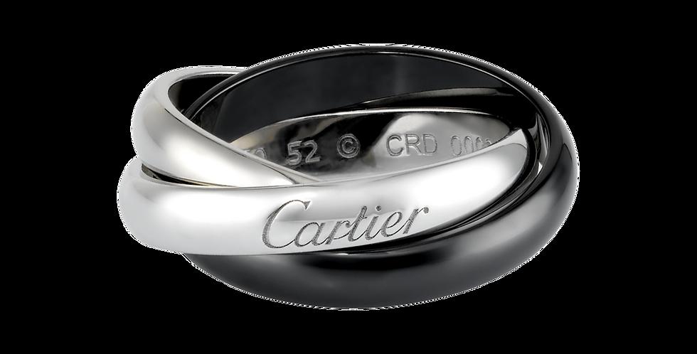 Cartier Black&White Trinity Wedding band