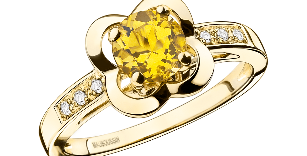 Desirez L'amour Citrine Ring