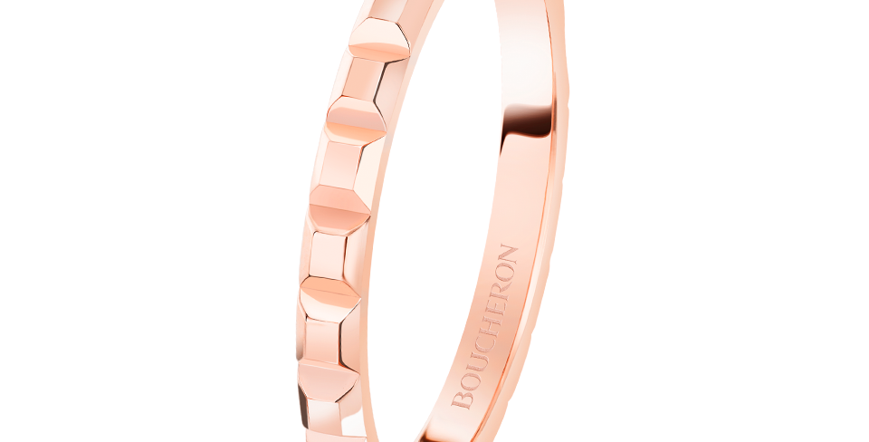 Boucheron Pointe De Diamant Pink Gold Mini