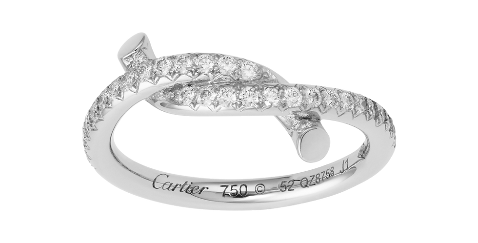 Cartier Lucky Entrelacés Ring