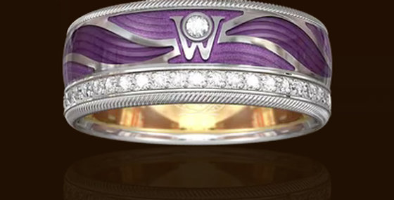 RING PURPLE WINGS