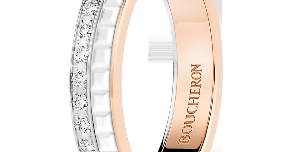 Boucheron Quatre White Edition Wedding Band