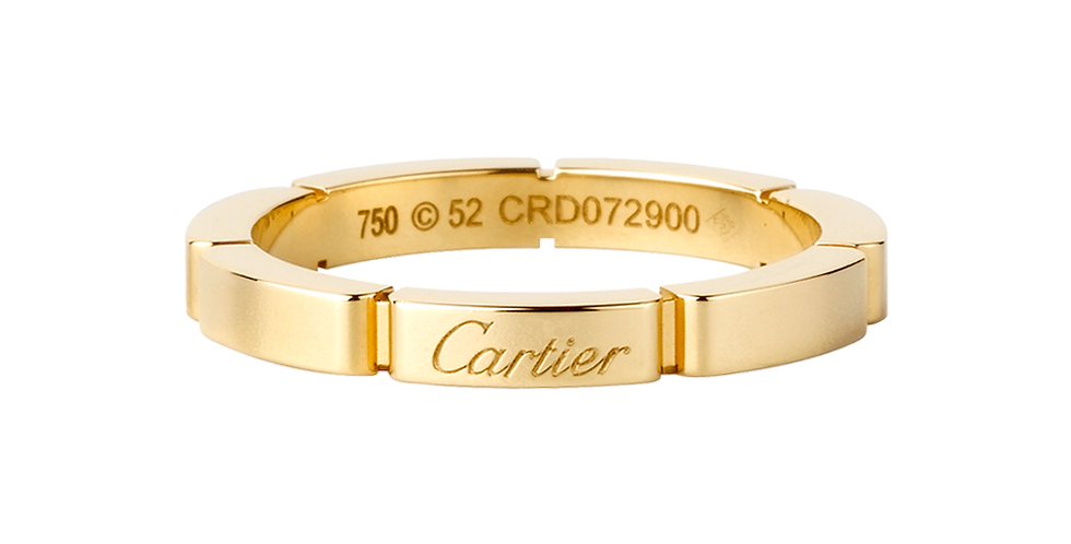 Cartier Maillon Panthère Wedding band