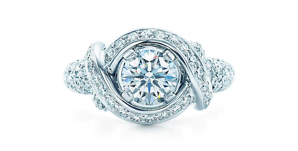TIFFANY & CO. SCHLUMBERGER® Engagement Ring