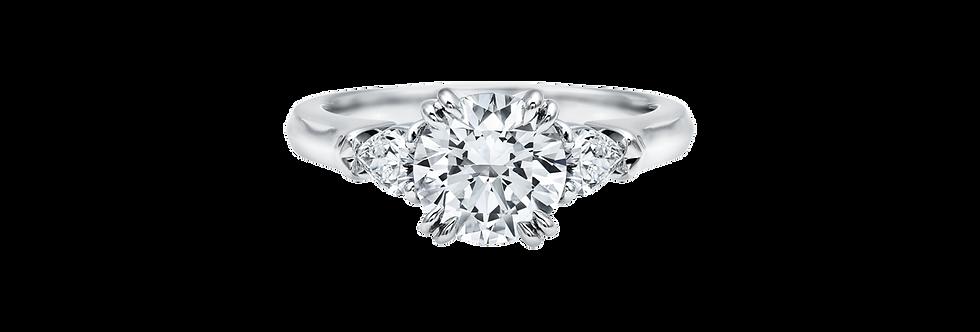 Classic Winston™, Round Brilliant Engagement Ring