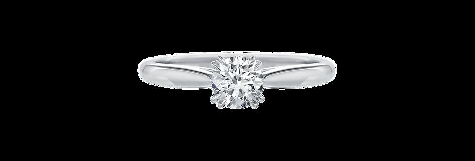 Solitaire, Round Brilliant Engagement Ring