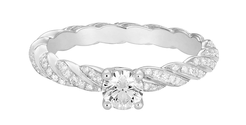 FRED FORCE 10 engagement ring 0.30 ct