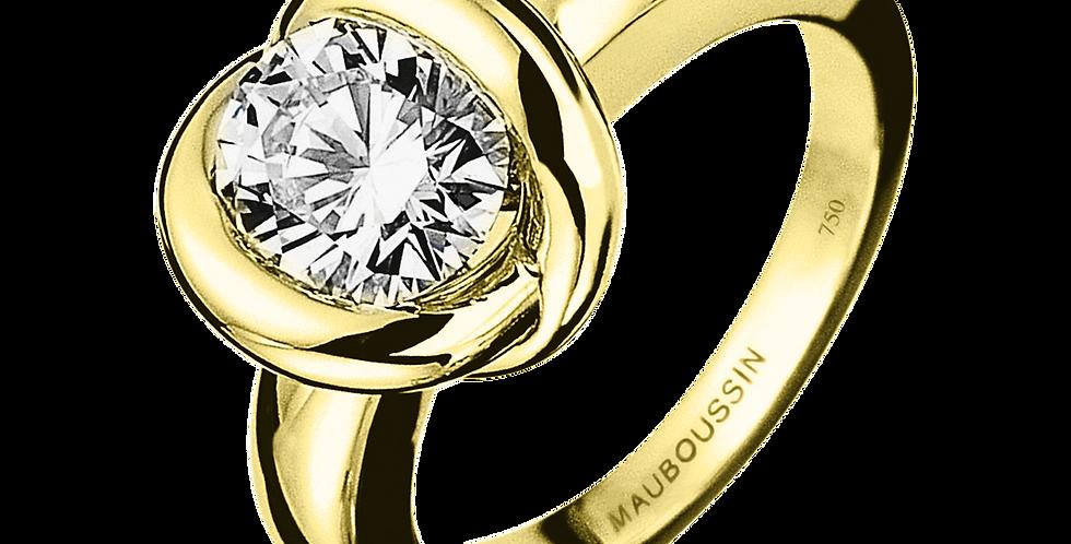 Ring Gold Swan