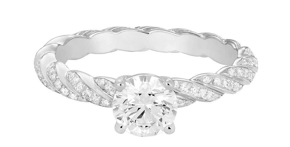 FRED FORCE 10 engagement ring 0.50 ct