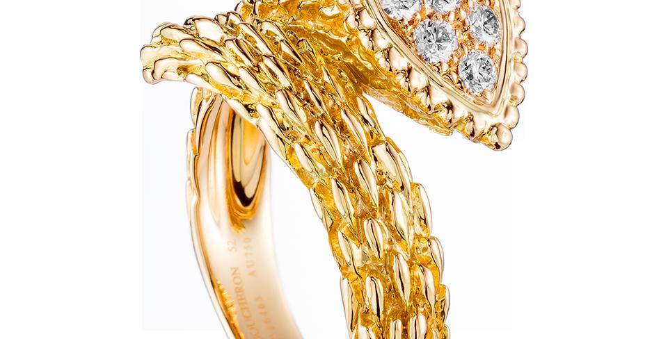 Boucheron Serpent Bohème Ring
