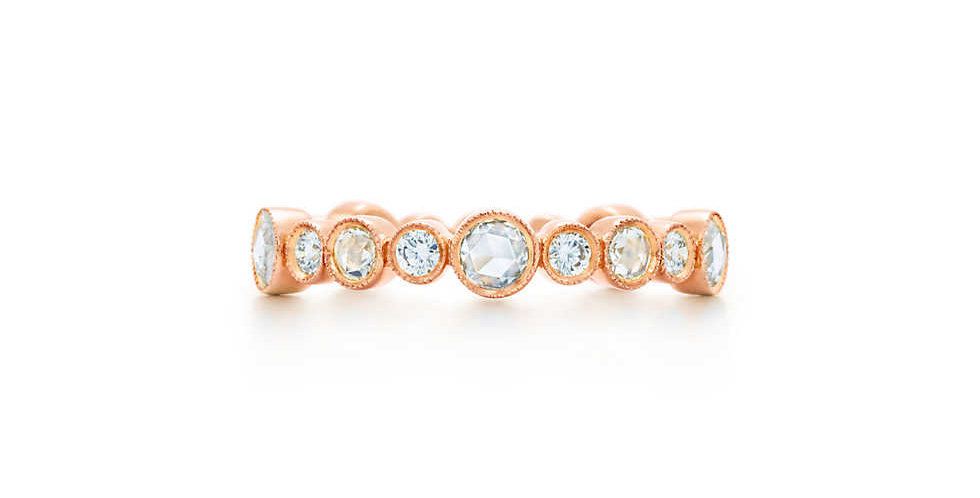 TIFFANY COBBLESTONE Diamond Band Ring