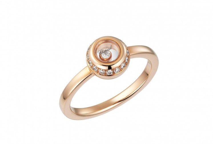 CHOPARD MISS HAPPY RING