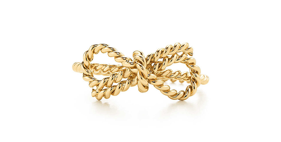 TIFFANY TWIST Bow Ring