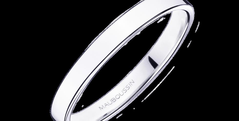 Bonheur Wedding Band (2,5mm)