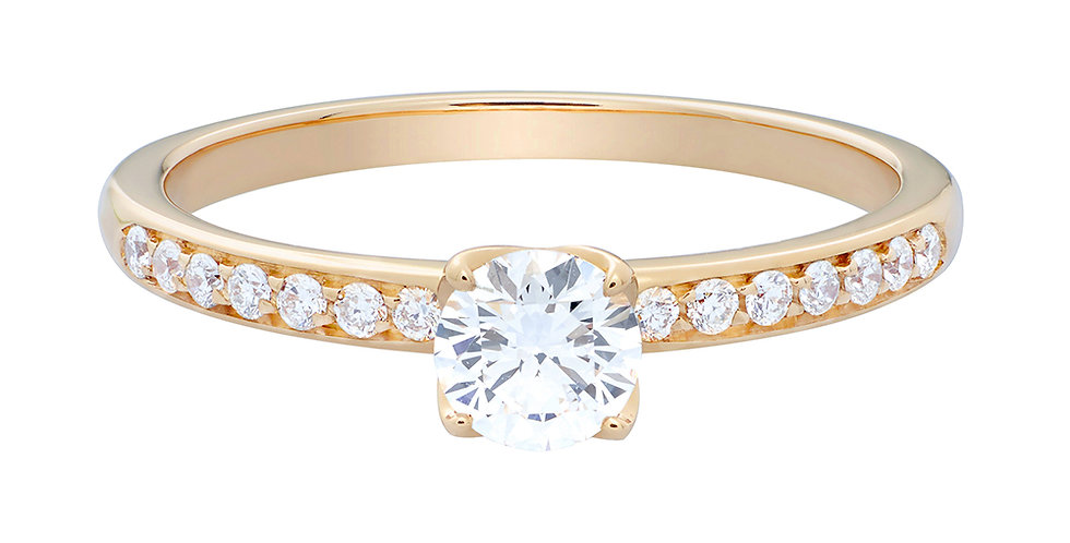 FRED Delphine engagement ring 0.30 ct.