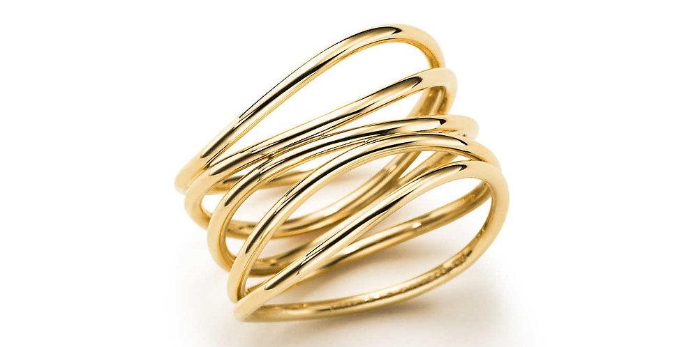 ELSA PERETTI® WAVE Five-Row Ring