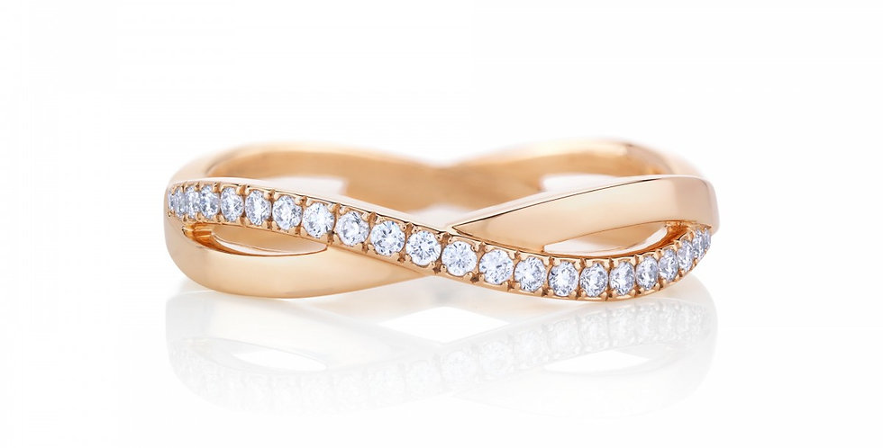 INFINITY PINK GOLD BAND