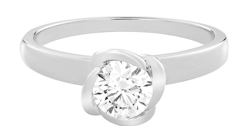 FRED Fleur Céleste engagement ring 0.50 ct.