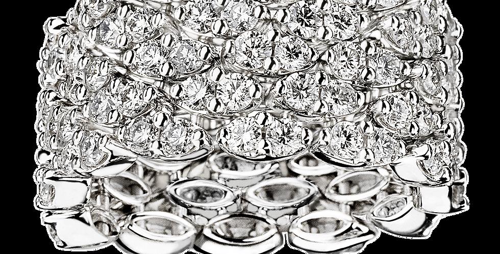 Je Le Veux 5 Rows of Diamonds Ring