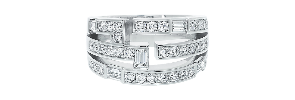 Traffic by Harry Winston, Small Diamond Ring