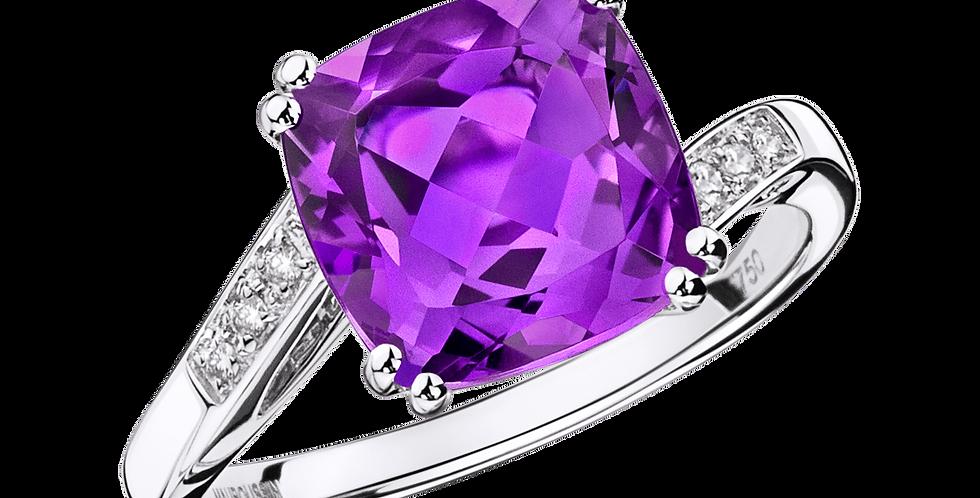Môme je t'aime Amethyst Ring