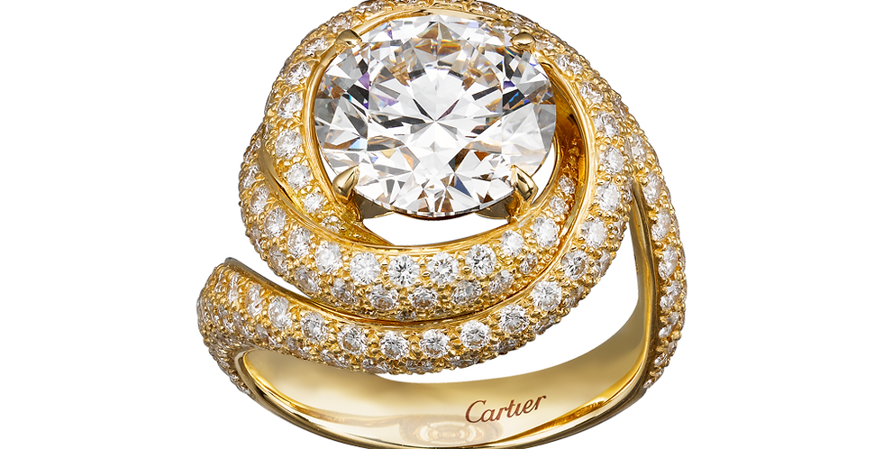 Solitaire Cartier Trinity Ruban