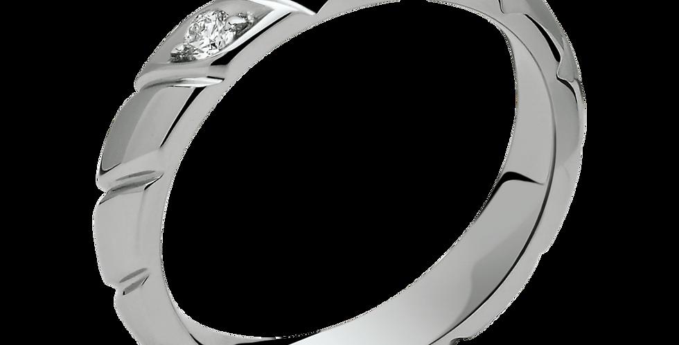 CHAUMET TORSADE WEDDING BAND