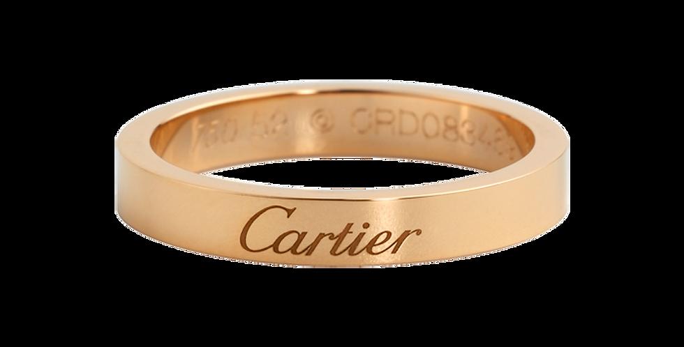 Cartier Engraved Wedding band