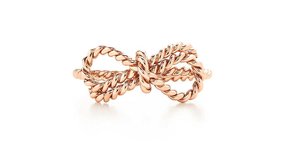 TIFFANY TWIST Bow Ring