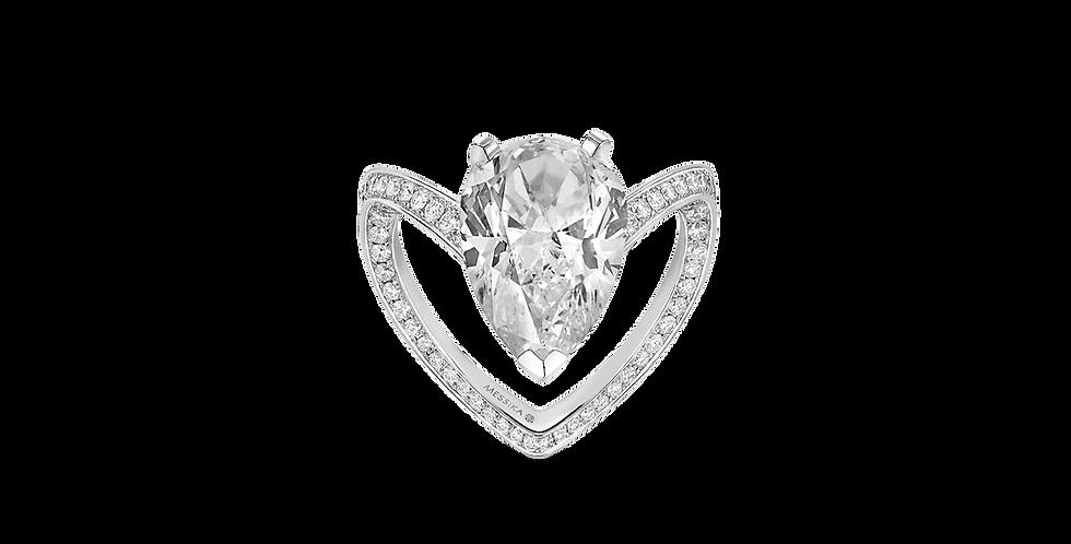 Messika Solitaire Diamant Poire