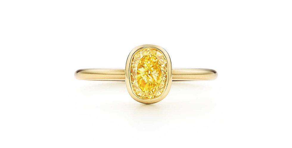 TIFFANY BEZET™ Yellow Diamond Ring