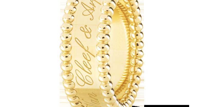 Van Cleef & Arpels Perlée Signature Ring
