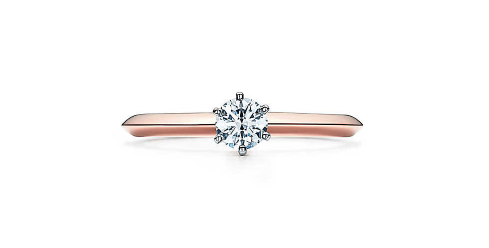 THE TIFFANY® SETTING 18K Pink Gold
