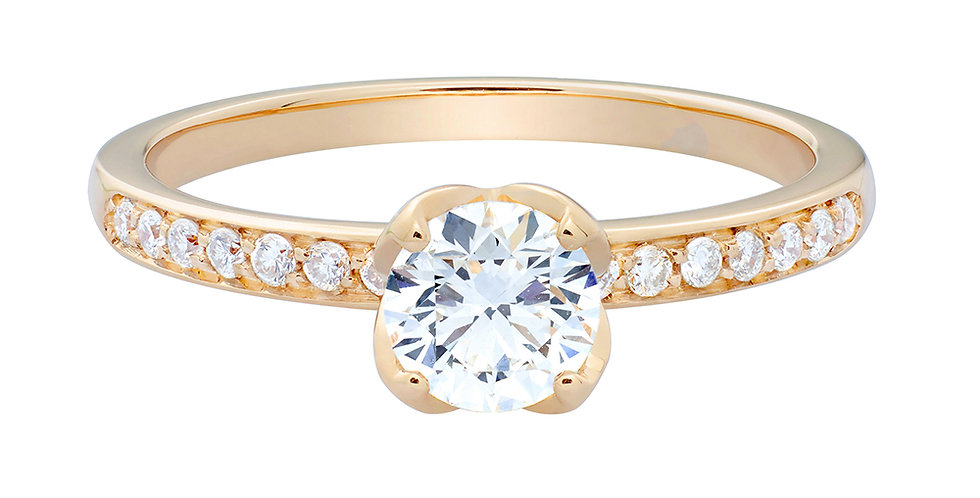 FRED Delphine engagement ring 0.50 ct.
