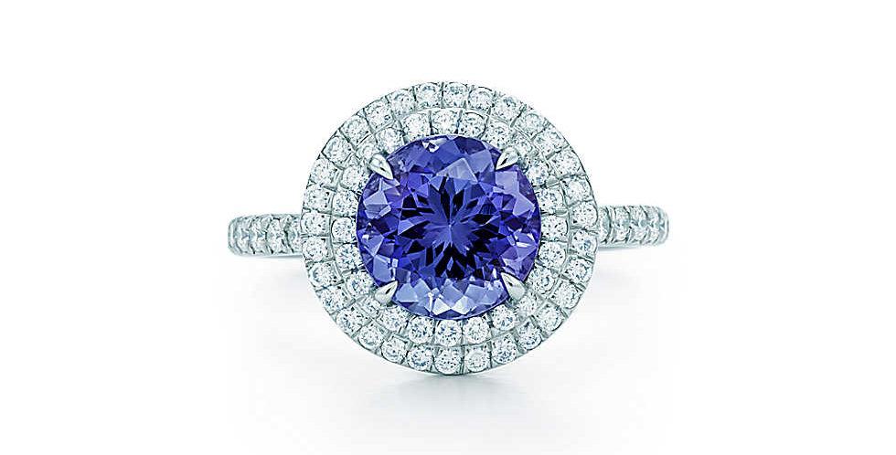 TIFFANY SOLESTE® Tanzanite Ring