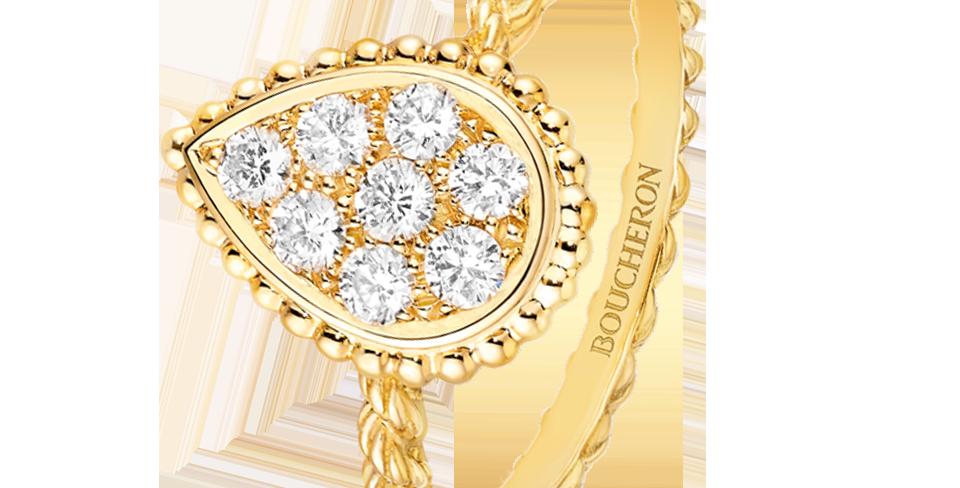 Boucheron Serpent Bohème Ring Medium Motif