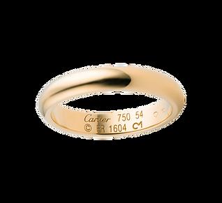Обручальное кольцо cartier.