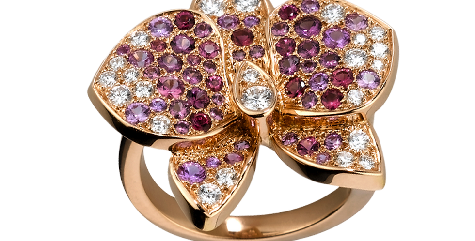 Caresse D'orchidées Par Cartier Ring
