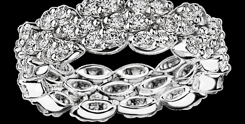 Je Le Veux 3 Rows of Diamonds Ring