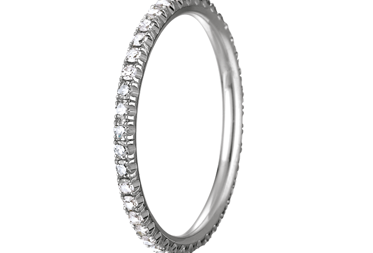 CHAUMET STACKABLE WEDDING BAND