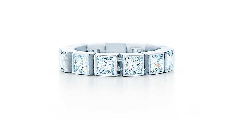TIFFANY T Diamond Line Ring