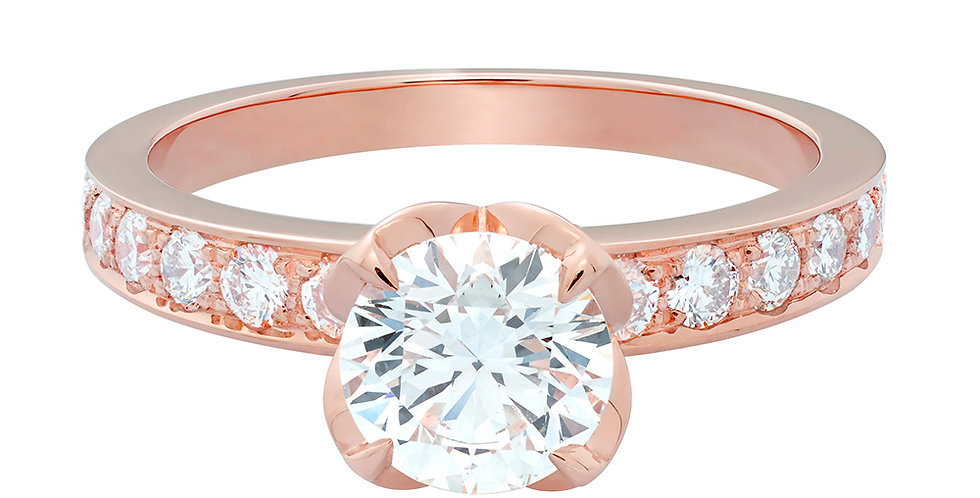 FRED Delphine engagement ring 1.00 ct.