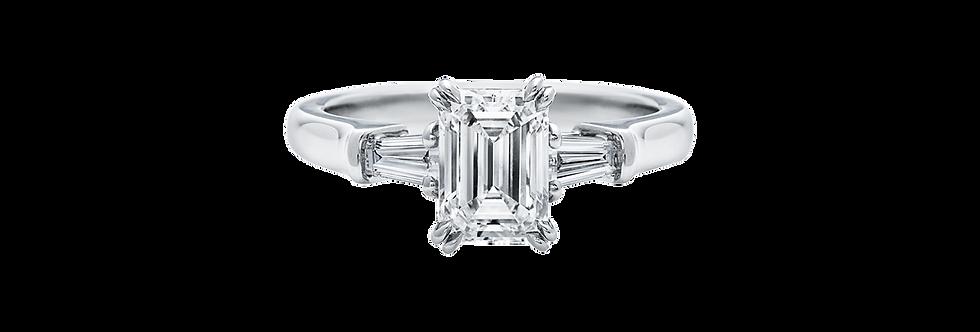 Classic Winston™, Emerald-Cut Engagement Ring